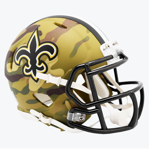 CASCO MINI SPEED CAMO SAINTS RIDDELL