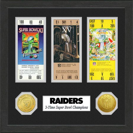 FOTO SUPER BOWL TICKET RAIDERS
