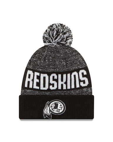GORRO SPORT KNIT 16 REDSKINS BLACK