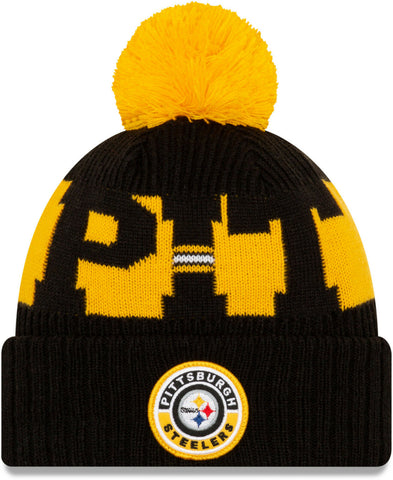 GORRO SPORT KNIT 20 STEELERS NEW ERA