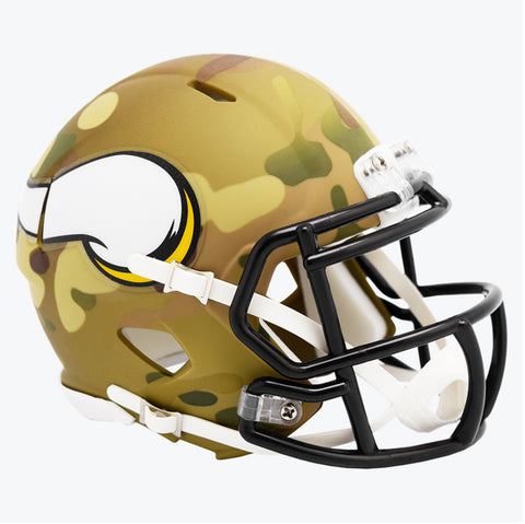 CASCO MINI SPEED CAMO VIKINGS RIDDELL