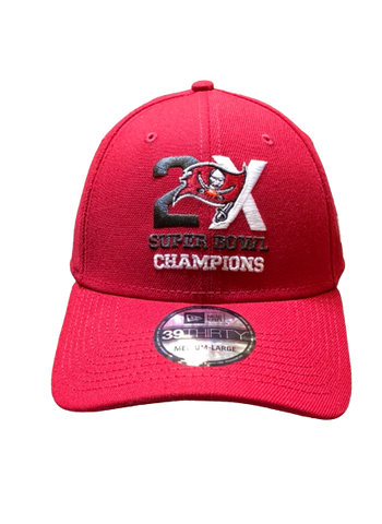 GORRA 3930 2X CHAMPS BUCCANEERS NEW ERA