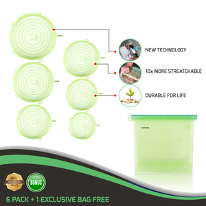 Silicone Stretch Lids Set