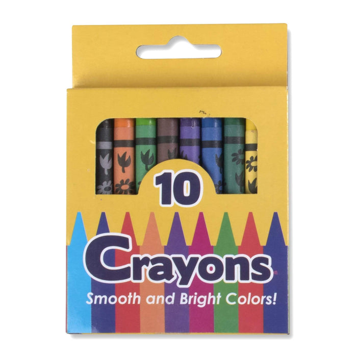 Wholesale 10 Pack Of Crayons