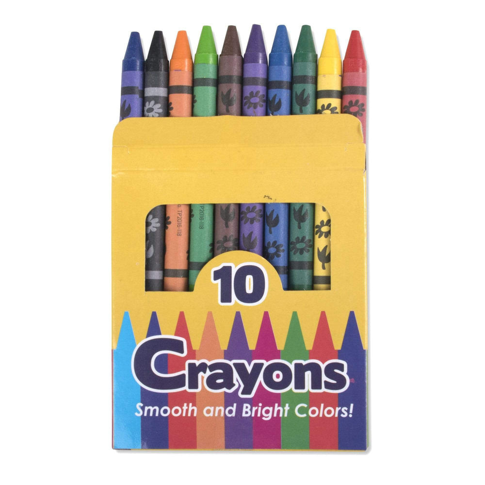 Wholesale 10 Pack Of Crayons -