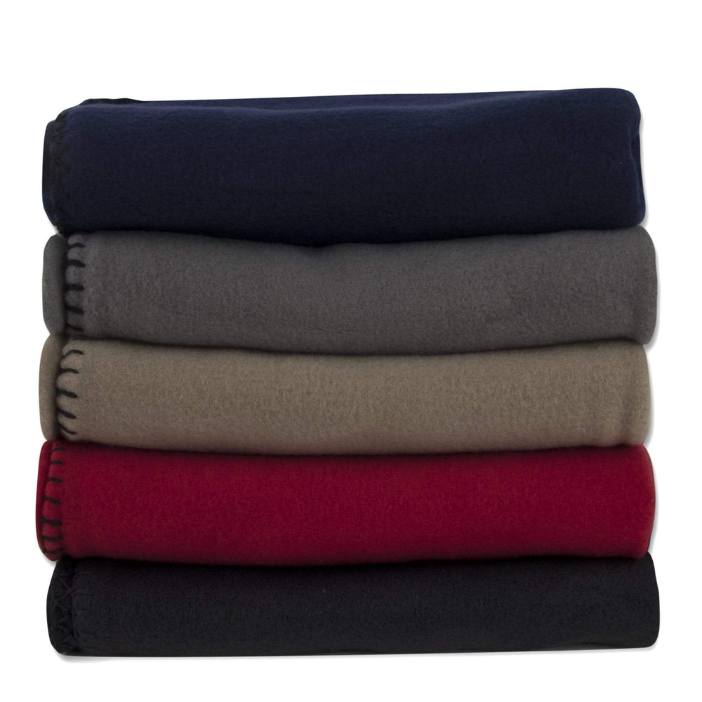 "Wholesale Fleece Kids Blanket 30"" x 40"" - 5 Assorted Colors"