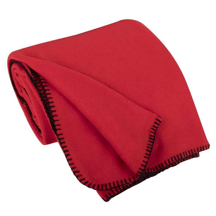 "Wholesale Oversized Fleece Throw Blankets 90"" x 60"" -"