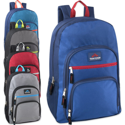 f0092c6af3 Wholesale Trailmaker Cargo Pockets 19 Inch Backpack With Padding - 5 Colors