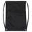 Wholesale Kids 15 Inch Promo Drawstring Bag - Black Only