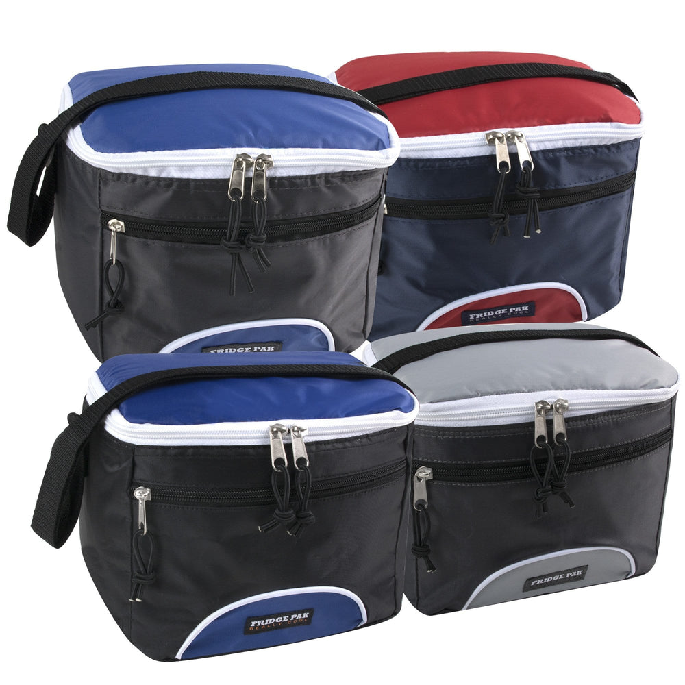 Wholesale Fridge Pak 6 Can Cooler Bag