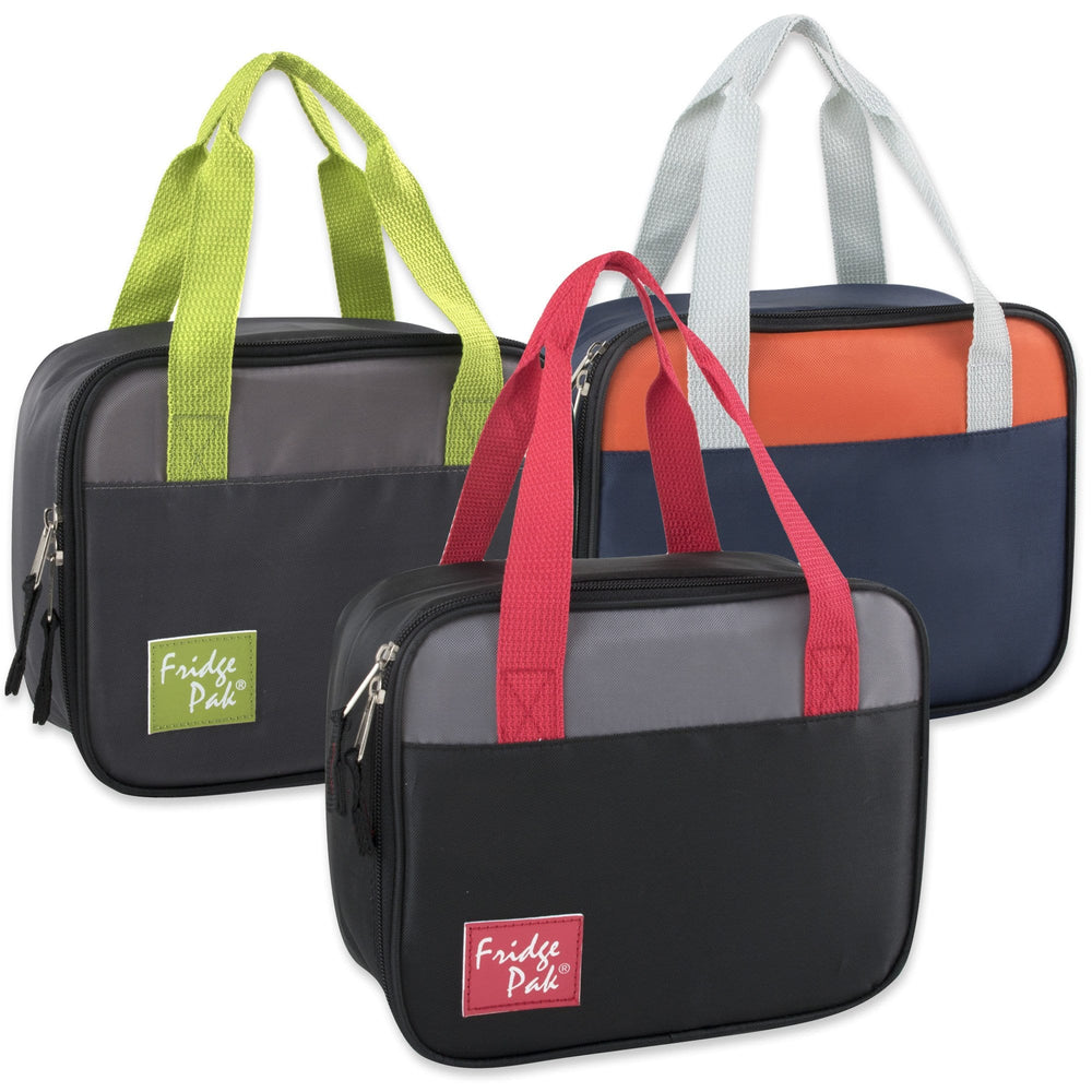 Wholesale Fridge Pack Two Tone Lunch Bags - Boys