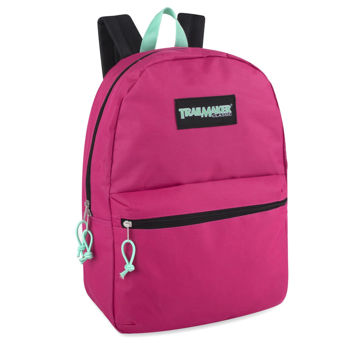 Wholesale Trailmaker Classic 17 Inch Backpack - Girls Assortment -