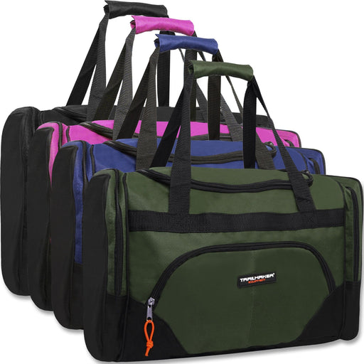 8b6ff4563ea9 Wholesale Trailmaker Deluxe 20 Inch Duffel Bag With Large Side Pockets