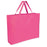 Wholesale 19 Inch Shopper Non Woven Tote Bag - Assorted Colors - 1 / Pink