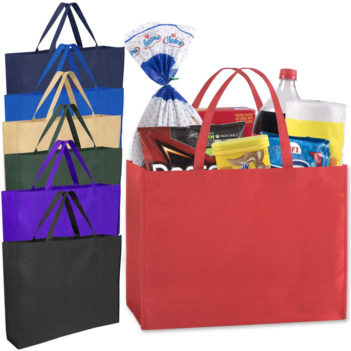 Wholesale 19 Inch Shopper Non Woven Tote Bag -