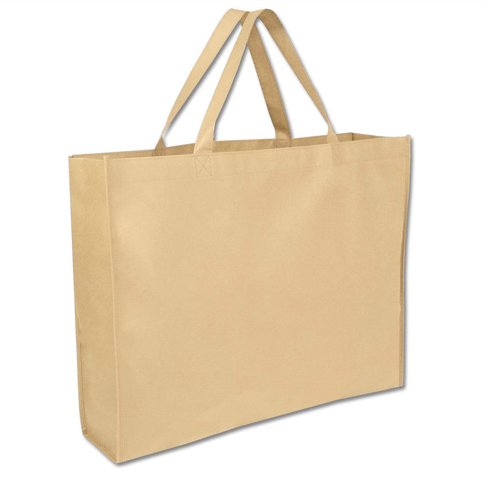 Wholesale 19 Inch Shopper Non Woven Tote Bag - Assorted Colors
