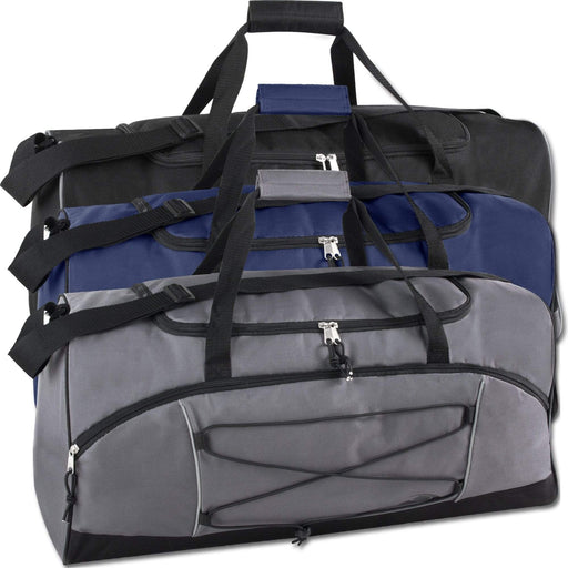 Wholesale Trailmaker 26 Inch Bungee Duffel Bag - 1 / Assorted