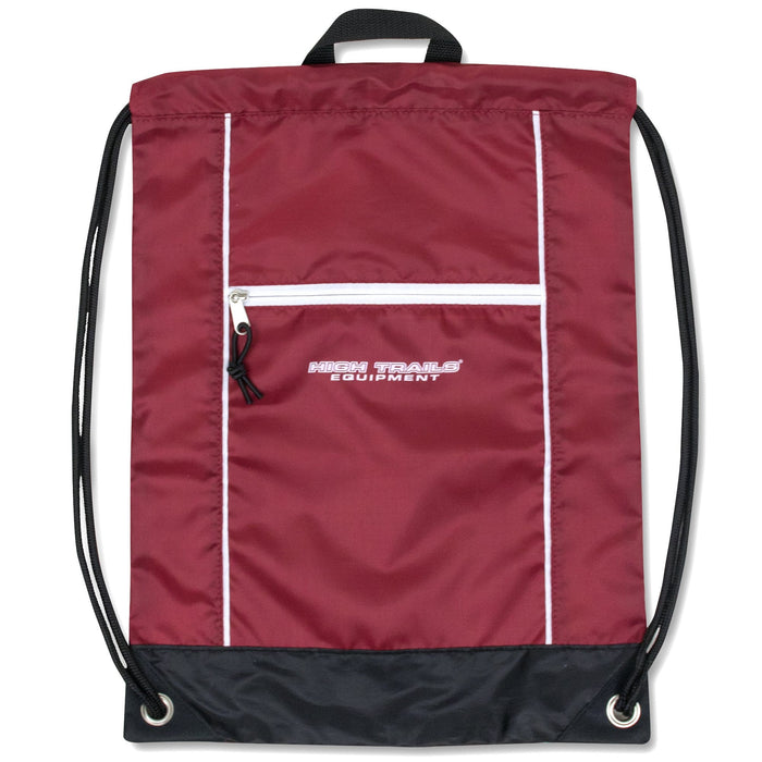 Wholesale High Trails 18 Inch Drawstring Bag - 5 Colors -