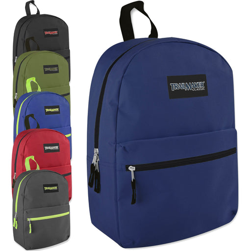 Wholesale Trailmaker Classic 17 Inch Backpack