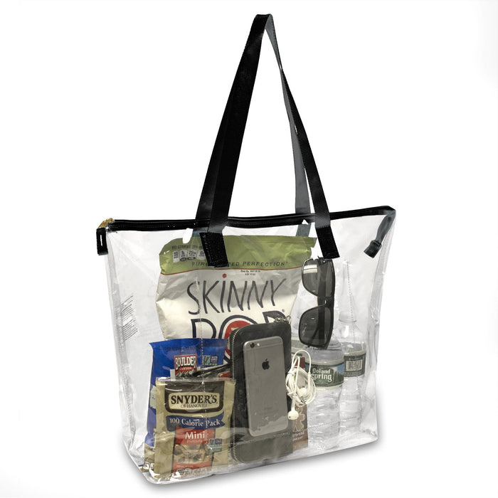 Wholesale Clear Tote Bag - Black
