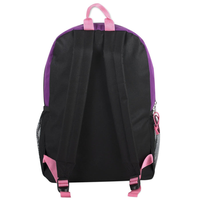 Wholesale Urban Sport 18 Inch Deluxe Bungee Backpack - 5 Color Girls Assortment -