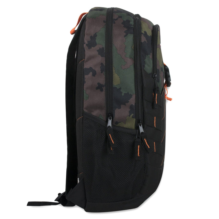 Wholesale 19 Inch Camo Print Daisy Chain Backpack