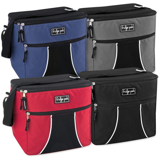 fa178522e128 Wholesale Fridge Pak 24 Can Cooler Bag - Assorted Colors