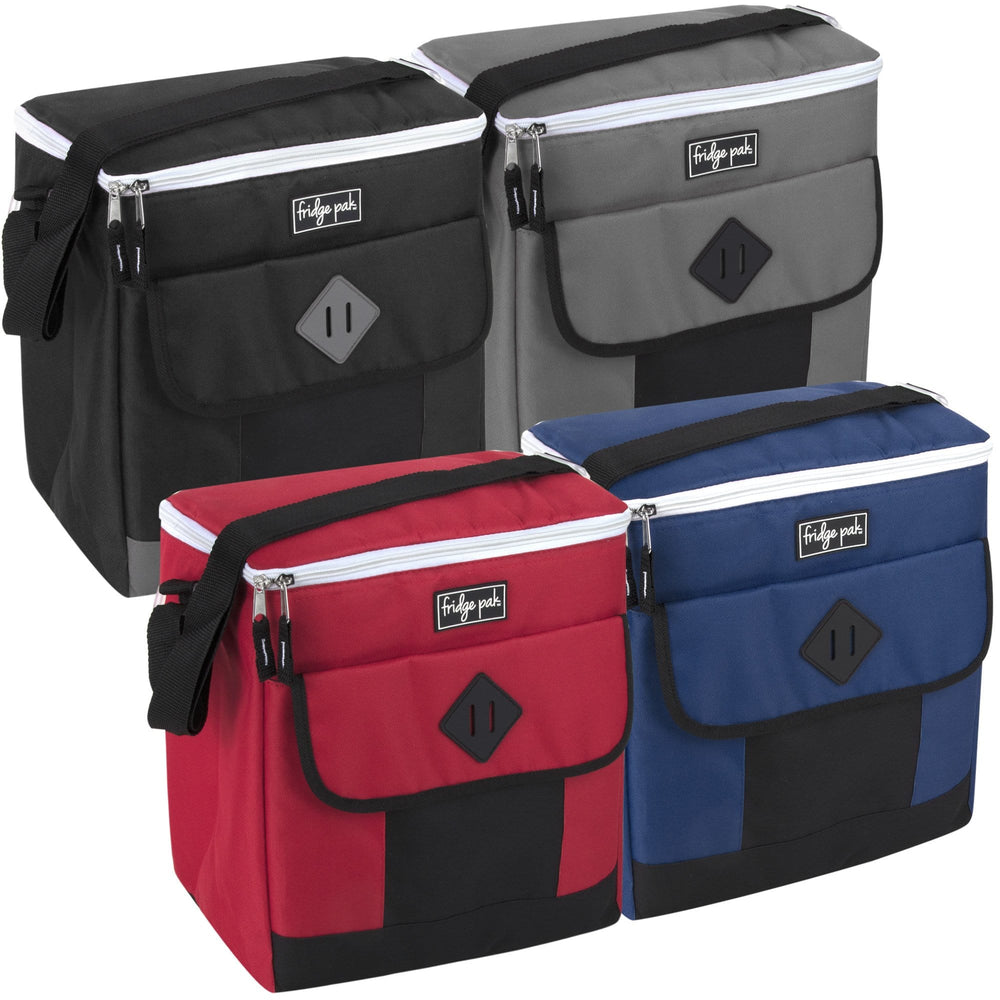 Wholesale Fridge Pak 30 Can Cooler Bag - Assorted Colors -