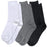 Wholesale Women's Cotton Crew Socks Solid Colors -