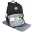 Wholesale Baby Essentials Diaper Backpack -  Black