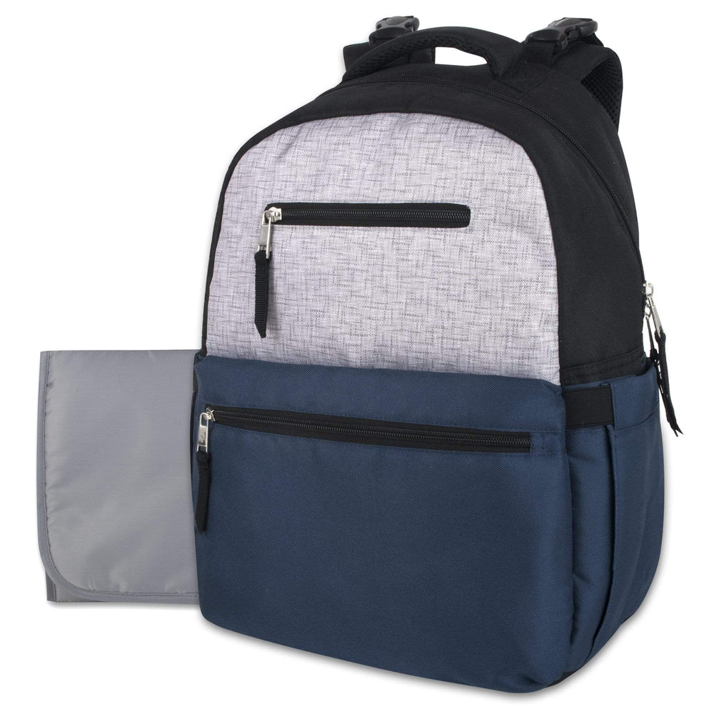 Wholesale Baby Essentials Diaper Backpack - Navy