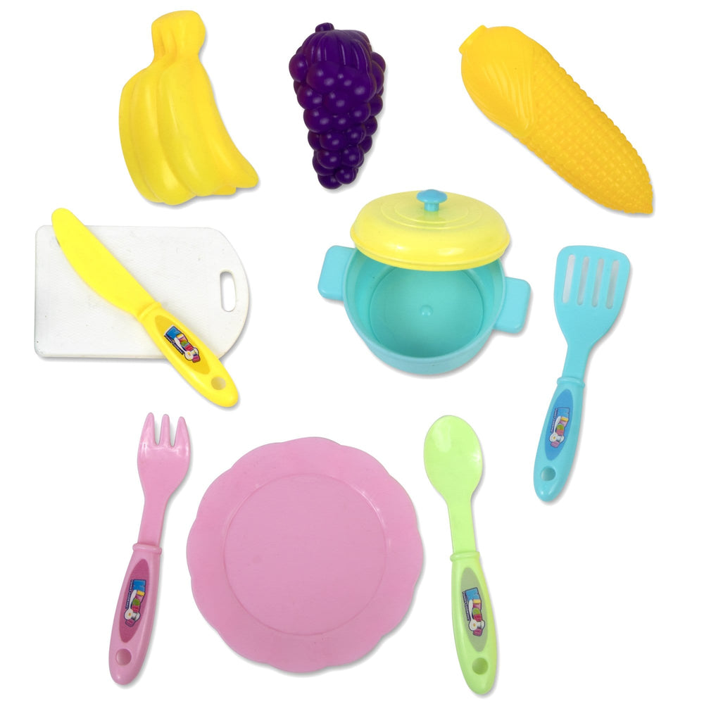 Cooking Toy Set  - 9 Pc Set -