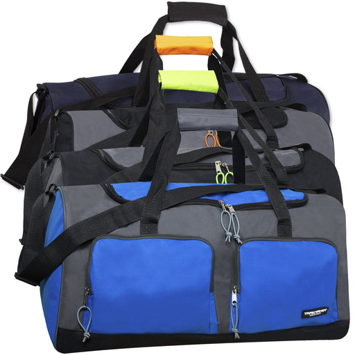 Wholesale 24 Inch Multi Pocket Duffle Bag b67389c860f3