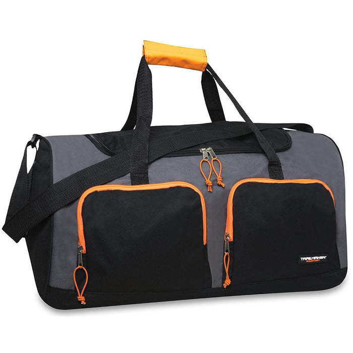 Wholesale 24 Inch Multi Pocket Duffle Bag