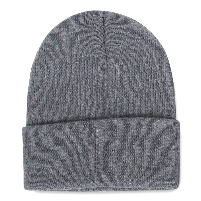 knit hat in gray