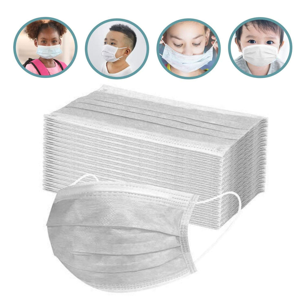 Wholesale Children's 3 Ply Disposable Protection Masks-BagsInBulk.com