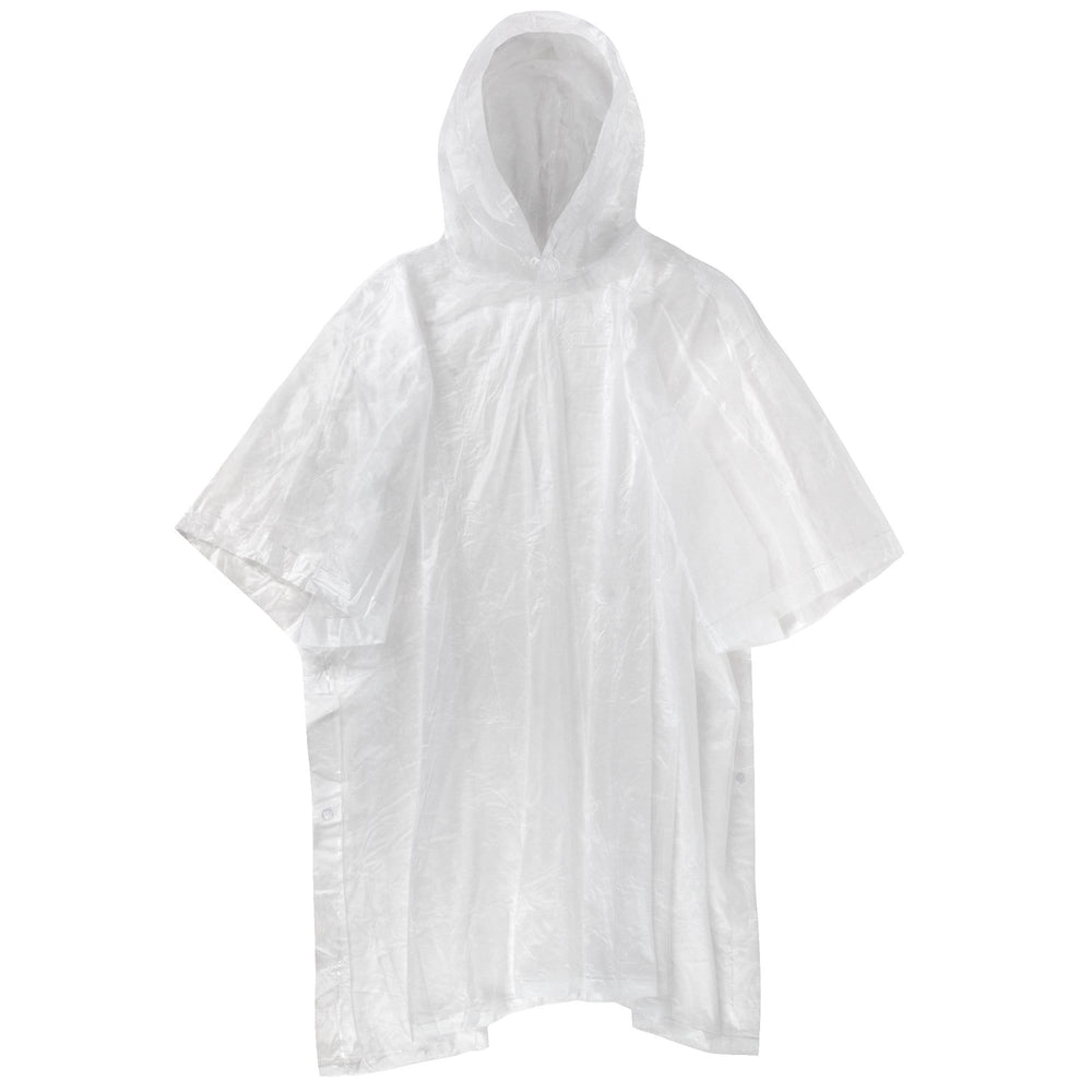 Wholesale Reusable Deluxe Rain Ponchos - Clear Only -