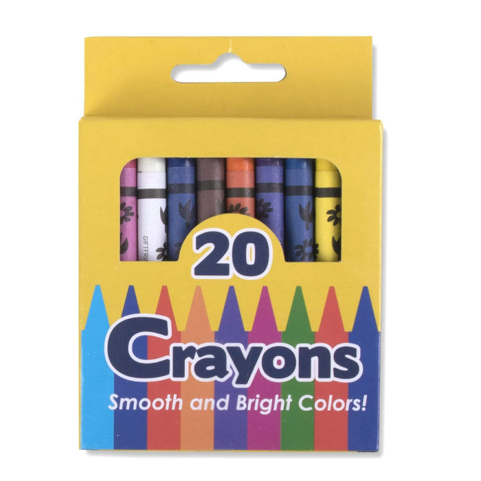 Wholesale 20 Pack of Crayons
