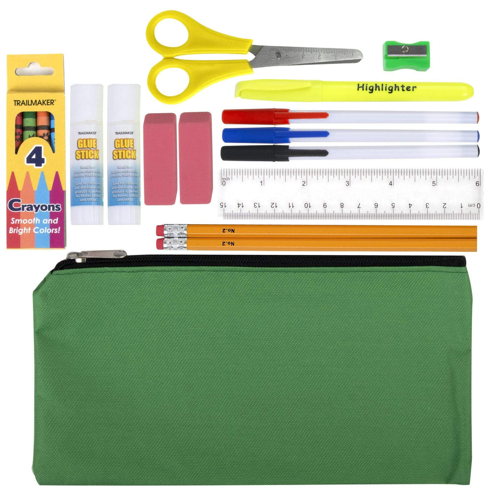 Remote Learning 18 Piece School Supply Kit-BagsInBulk.com