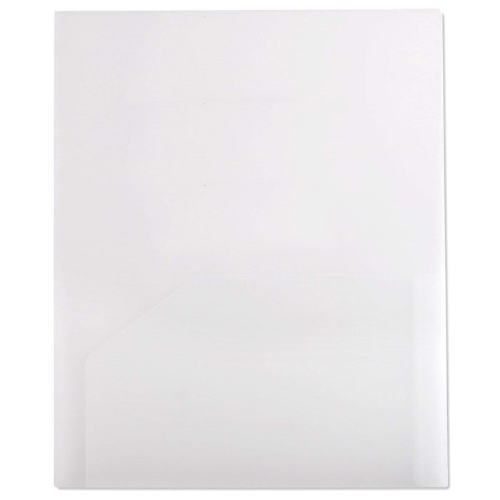 Wholesale Heavy Duty Plastic Folder - Assorted Colors