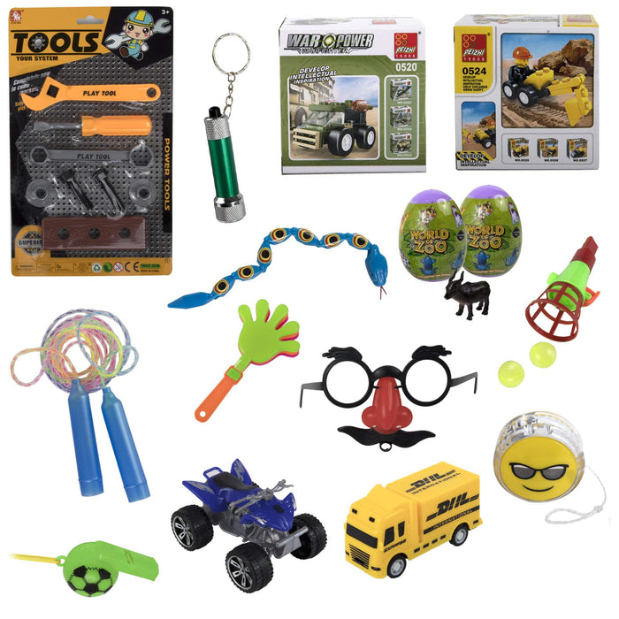 Promo 15 Piece Toy Kit - Boys -