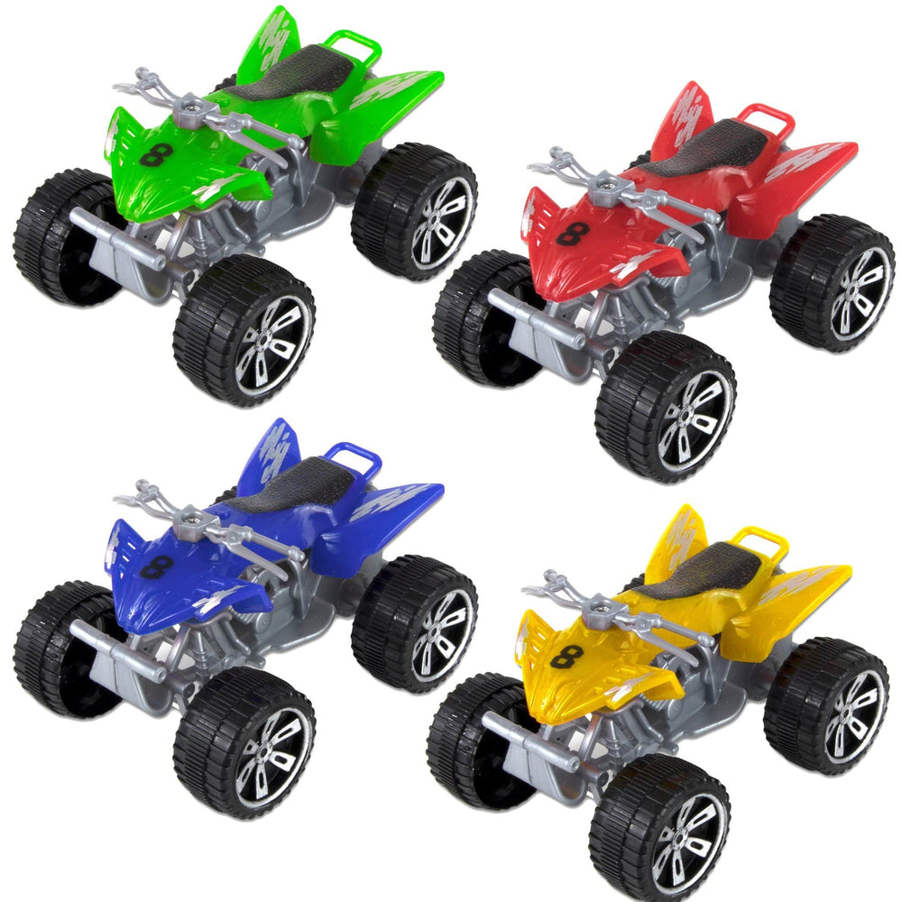 4 Wheel All-Terrain Vehicle- 4 Assorted Colors