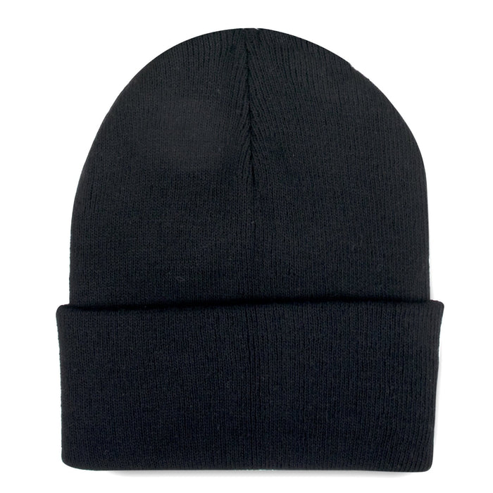 knit hat in black