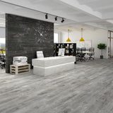 "Manhattan Storm Matte 8""x48"" Wood Look Porcelain Tile"