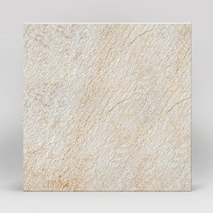"Rox White Quartz Matte 24""x24"" Stone Look Porcelain Tile"