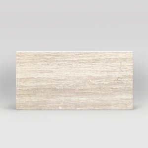 "Tale Navona Naturale Honed 12""x24"" Travertine Look Porcelain Tile"