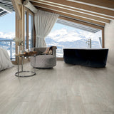 "Vibe Frost Matte 8""x48"" Wood Look Porcelain Tile"