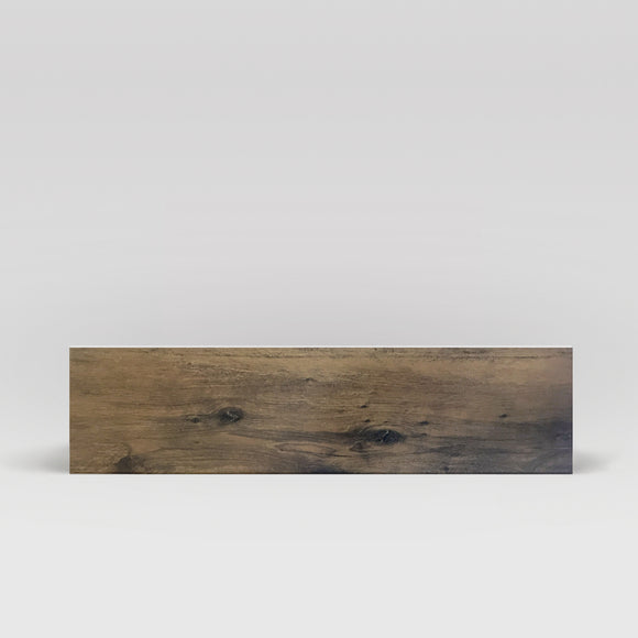 Wood Plank Dark Brown Matte 6