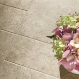 "District Sand Matte 4,5""x14"" Stone Look Porcelain Tile"