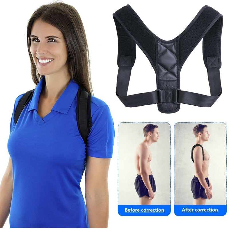 Back Posture Corrector (Adjustable to all body types)